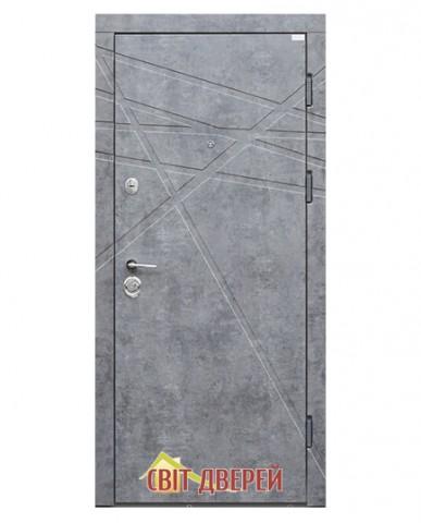 Стандарт - DG-41  Мрамор темный \ Бетон снежный