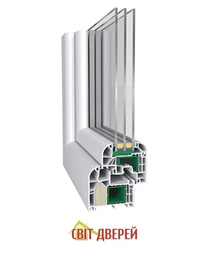 Steko IDEAL 8000 RL, (85 мм), Белый 1600*1550 мм