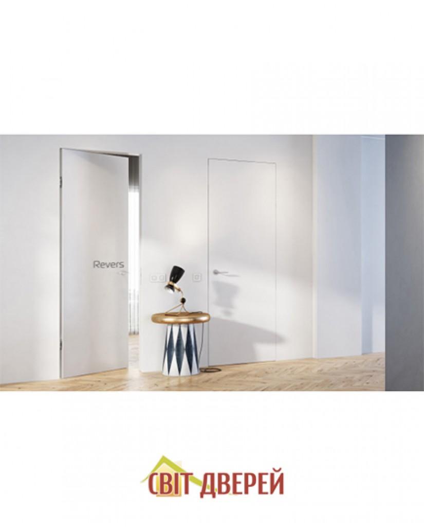 Скрытые двери IS 1 Revers под покраску внутреннего открывания