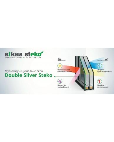 Окно Steko S500 1400х1250мм